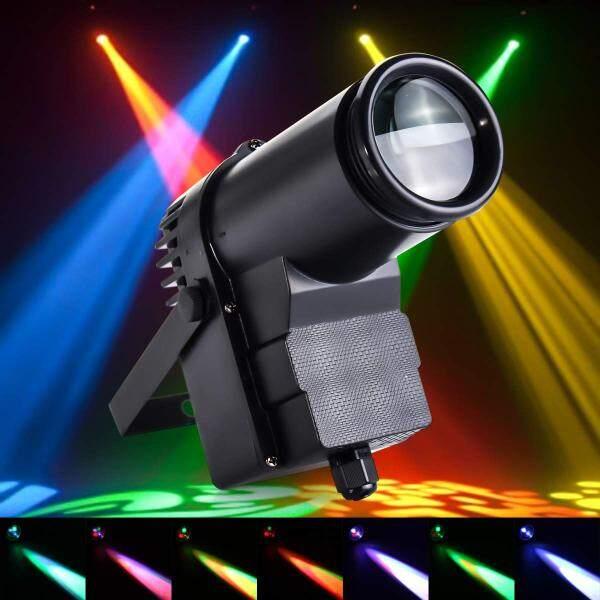 Đèn chiếu sân khấu 30W có điều khiển từ xa đèn LED hiệu ứng DMX512 cho sàn nhảy DJ điểm nhấn với điều khiển từ xa dùng cho tiệc câu lạc bộ quán bar AC90-240V trang trí đám cưới màu đen