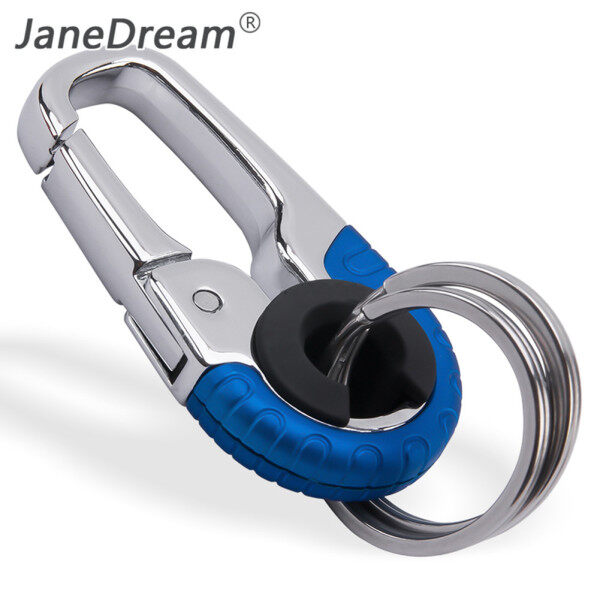 JaneDream Xe Keychain Sáng Tạo Key Chủ Keyring Của Nam Giới Thời Trang Móc Chìa Khóa Món Quà Sinh Nhật Kim Loại Vòng Chìa Khóa Xe Tạo Kiểu Phụ Kiện Tự Động