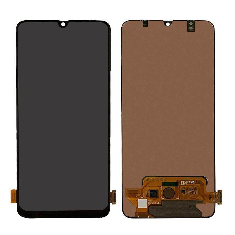 Layar LCD OEM dan Rakitan Digitizer Pengganti Komponen untuk Samsung Galaxy A70 SM-A705