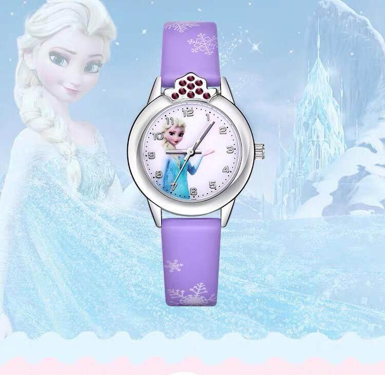 [MALAYSIA] Kids Watch Jam Tangan Wanita Anna Elsa Frozen Princess Kids Watch Malaysia