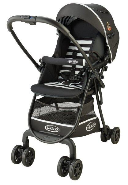 GRACO (Greco) lightweight high seat stroller City write R up border BK [& large wide tire specification with foot cover] 67483 Singapore