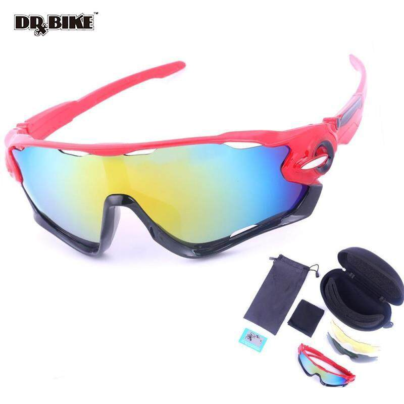 139046509e3 DRBIKE Bicycle Polarized Glasses Cycling Goggles 3 Exchangeable  Interchangeable Lens Bike Sunglasses