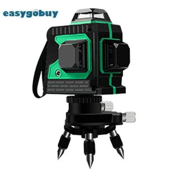 12 đường 3D Tự cân bằng Laser 360 Ngang Dọc Nhạc Cụ