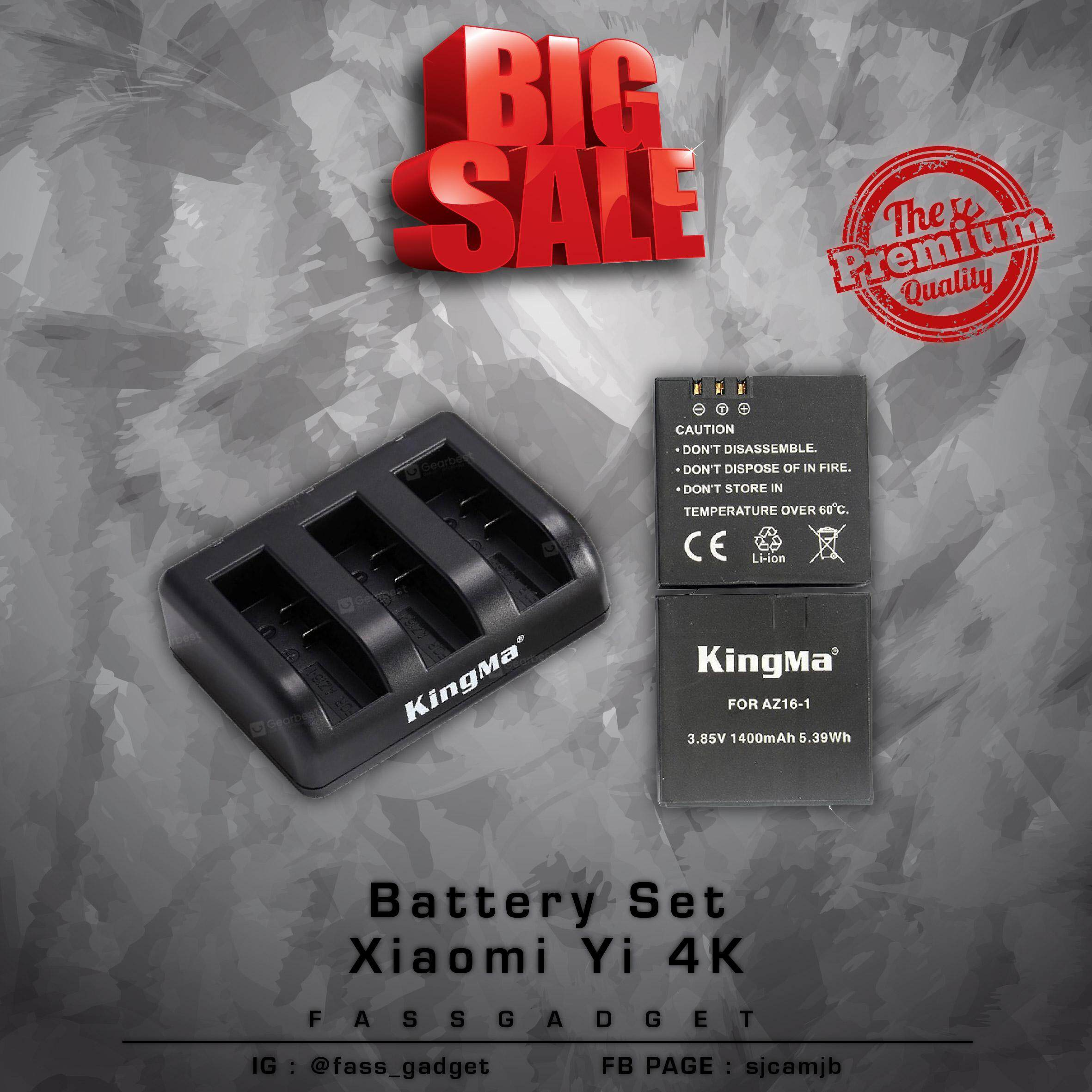 Kingma Batteries & Chargers for the Best Prices in Malaysia