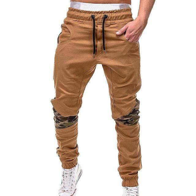 HEFLASHOR Thin Summer Men Camouflage Casual Pants Patchwork Sweatpants Male Cargo Pants Multi-pocket Sportwear Mens Joggers