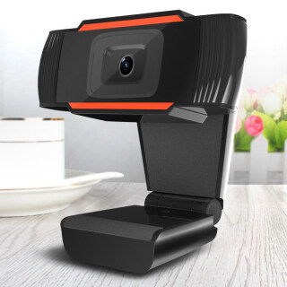 Webcam USB 480P 720P 12.0MP Độ Nét Cao Camera Web 360 Độ Kẹp Xoay-On Webcam Có Micrô Cho Máy Tính Để Bàn thumbnail