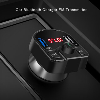 Máy Phát FM Sạc Nhanh USB 3.1A Thông Dụng Máy Phát Radio MP3 Màn Hình LED Điện Áp, Đối Với Xe Điện Thoại Thông Minh thumbnail