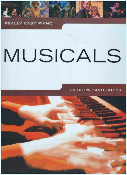 Really Easy Piano Musicals / Piano Book / Song Book / Voice Book Malaysia