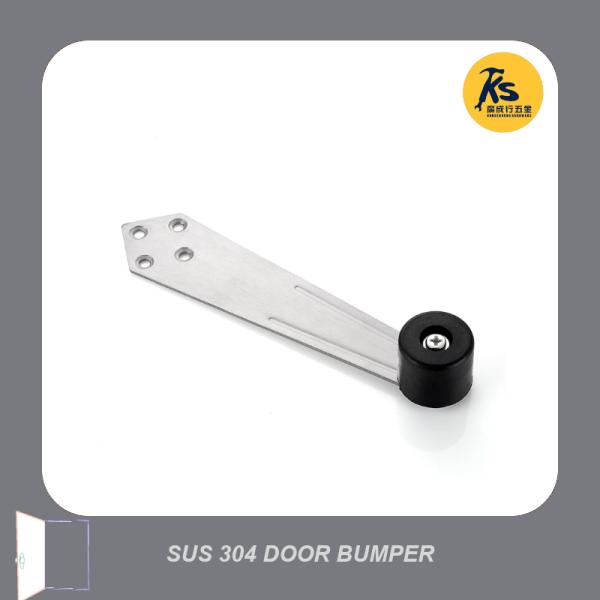 SUS 304 Stainless Steel Top Jamb Door Bumper Stopper