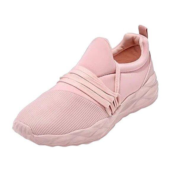 Giày Thể Thao Nữ Thời Trang 2020 Giày Thể Thao Nữ Buộc Dây Nhẹ Giày Tennis Nữ Đế Bằng Có Dây Chéo Màu Trơn # G30 giá rẻ