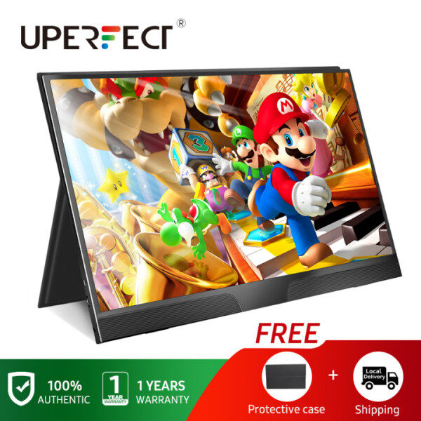 UPERFECT  [Local delivery] 15.6  IPS Screen FHD thin portable lcd monitor usb type c hdmi for laptop,phone,xbox,switch and ps4 portable gaming monitor Malaysia