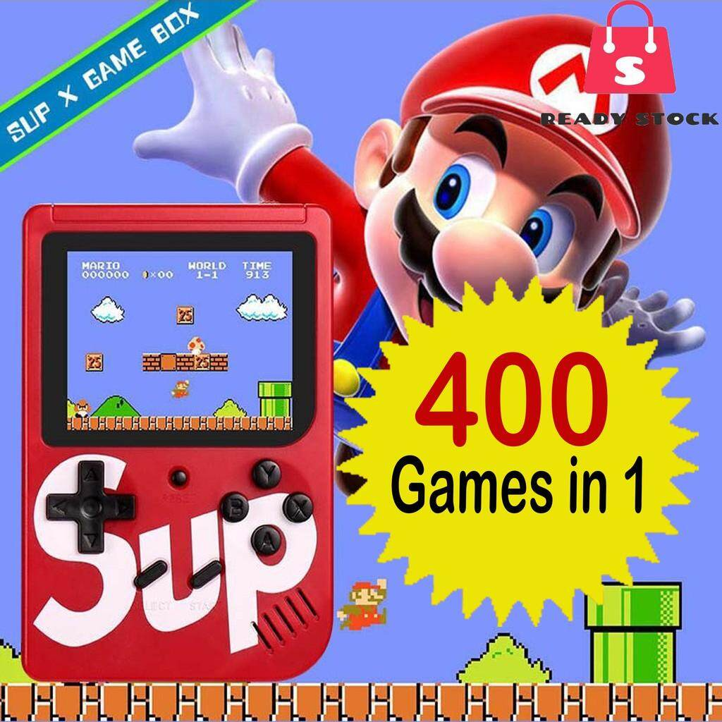 400 Games Brand Retro Mini Gameboy Game Console Emulator Built-In By Super Nice.
