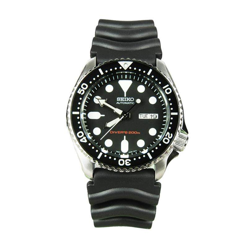 Seiko Mens Automatic Diver Black Resin Strap Watch SKX007K1 (watch for man / jam tangan lelaki / men watch / watch for men) Malaysia
