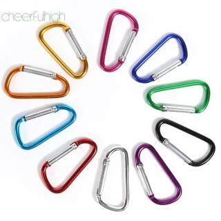 10 Cái Carabiner Keychain Clip Leo Núi Ngoài Trời Móc Khóa Móc Khóa (Ngẫu Nhiên) thumbnail