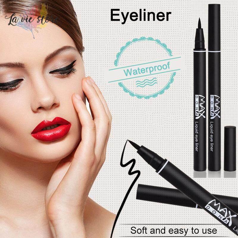 Kamus Lihat Kecantikan Hitam Eyeliner Tahan Air Celak Cair Pena Kosmetik Pensil Rias