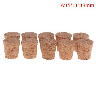 Màu Cam Ánh Nắng Mặt Trời 10 Cái Chai Rượu Thủy Tinh Nút Chai Ấm Đun Nước Pudding Container Nút Chai Buret thumbnail