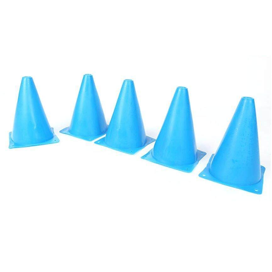 Top Sale 5PCS/Set 18cm Training Sport Safety Traffic Marker Cone Football Roller