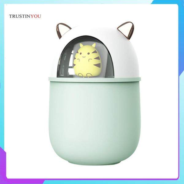 300ML Air Humidifier Cute Mouse Quiet Cool Mist Maker with Romantic Light Singapore