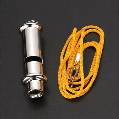 10pcs SCOUTS High quality police whistle military Scout whistles with lanyard outdoor sport tools