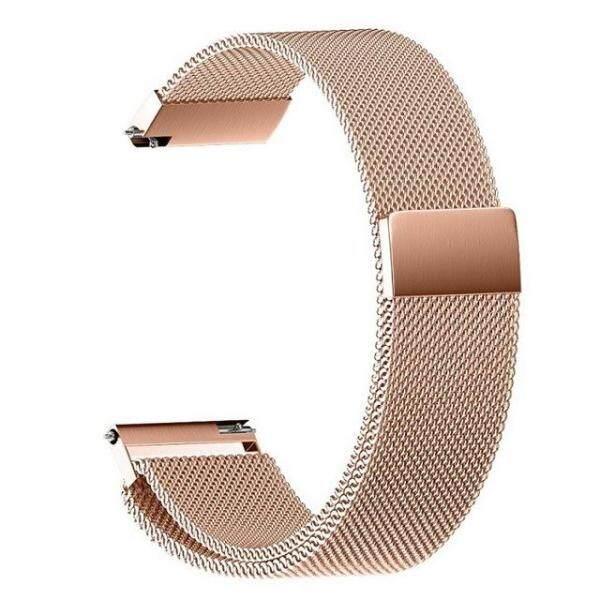 18mm 20mm 22mm Đa Năng Milanes vòng dây đeo watchbands Đồng Hồ Thông Minh Dây Đeo Kim Loại dây Thép không gỉ nam nữ Đồng hồ bán chạy