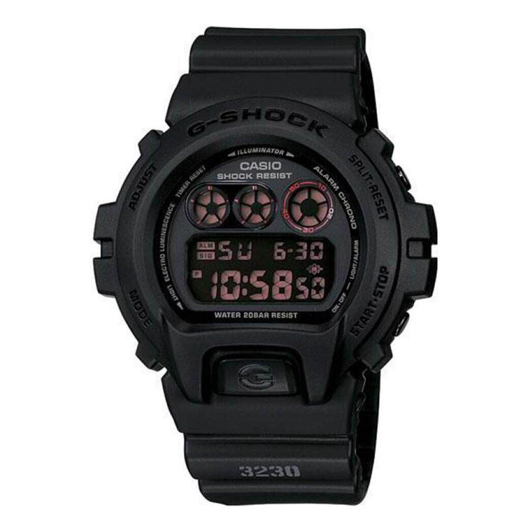 Casio_G-Shock_DW5600 Mens Fashion Sports Red Resin Strap Watch LCD Standard Digital Watch for men DW_5600/6900 Malaysia