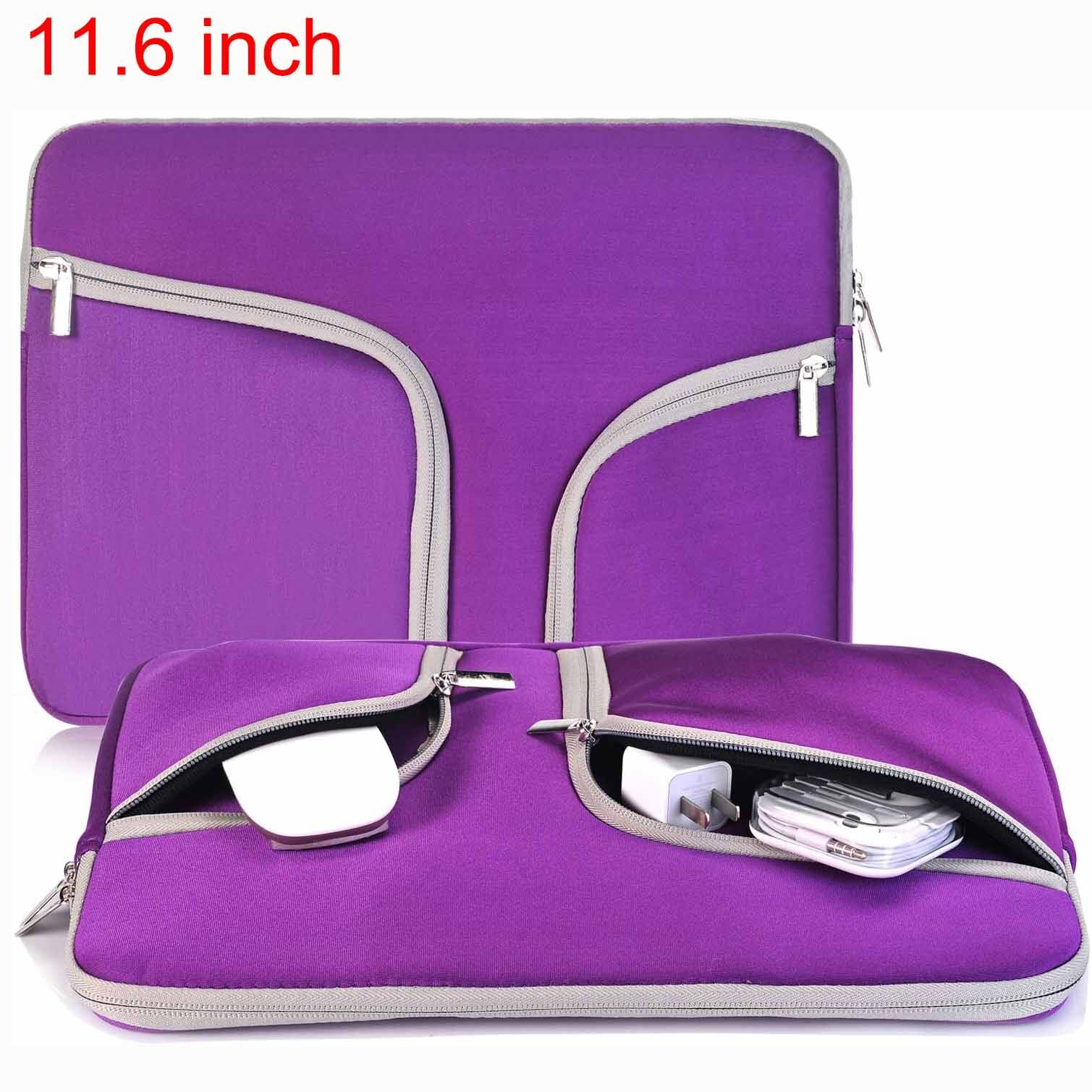 Laptop Sleeve Case 11.6-12.3 Inch, Water-Resistant Protective Bag Compatible Mac Air 11, Mac 12 Retina, Ipad Tablet, Surface Pro 3 4 5 6, Chromebook 11, Notebook Carrying Case.