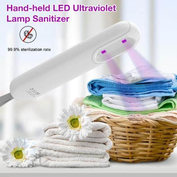 UV Khử Trùng Ánh Sáng Cầm Tay Sạc USB Máy Lọc Không Khí Chống Vi Khuẩn Đèn Diệt Khuẩn Cho Du Lịch Gia Đình