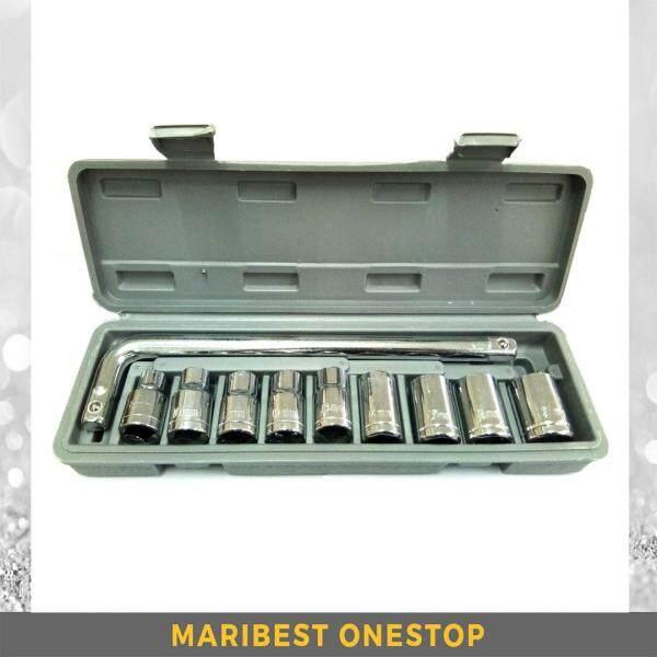 10PCS 1/2 DRIVE BOX SOCKET SET 8MM - 21MM (MLG-1810)