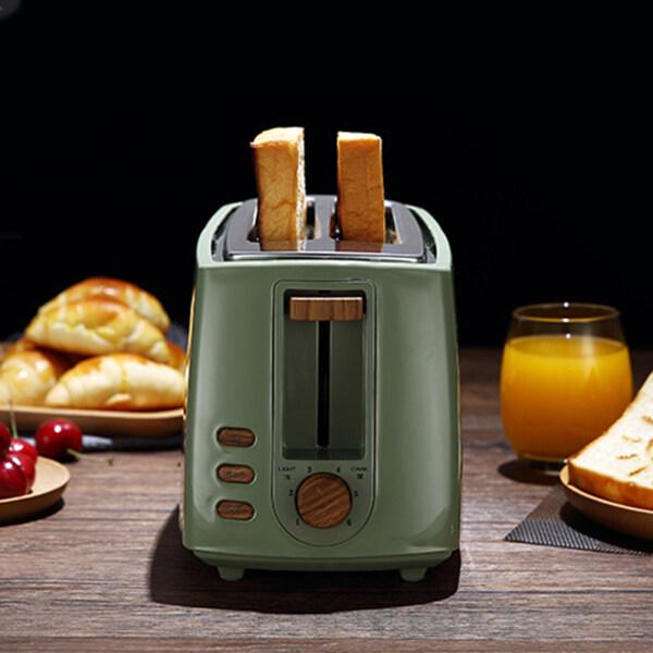 Flh 2-Lát Hai Mặt Máy Nướng Bánh Mì Chạy Điện Nhà Máy Làm Bữa Sáng Máy
