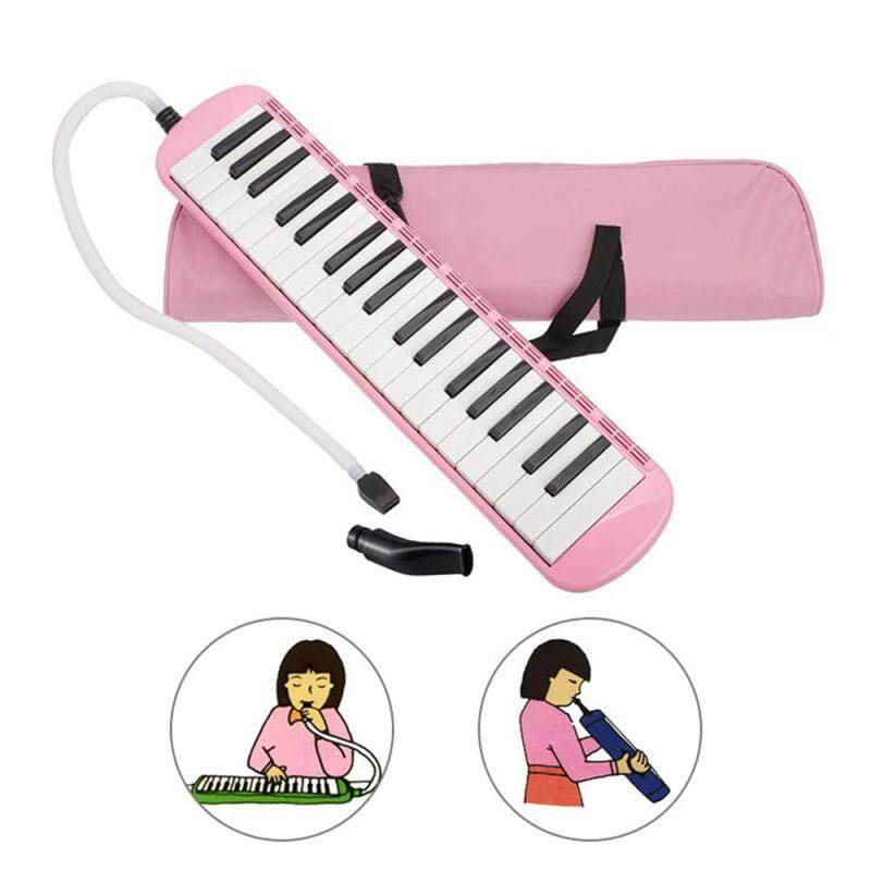 Umiwe 37 Key Melodica Instrument With Mouthpiece Air Piano Keyboard,Carrying Bag Malaysia