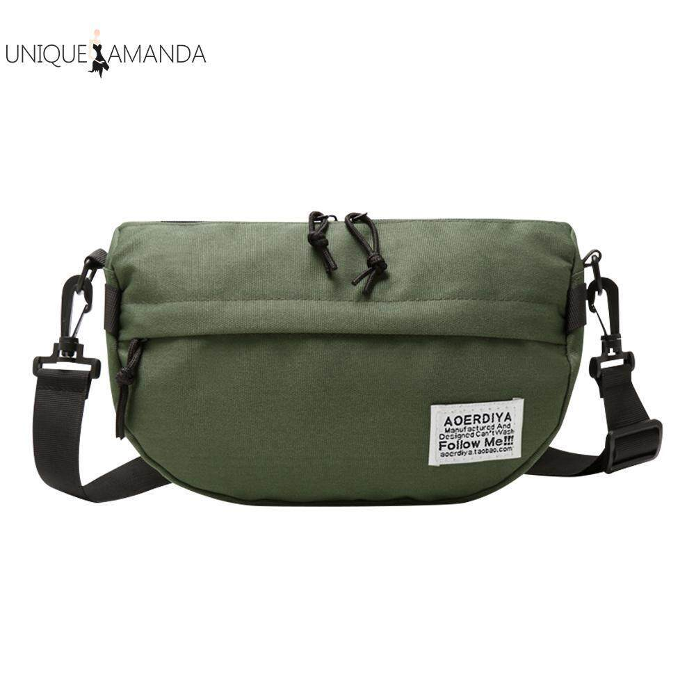 Casual Unisex Fanny Waist Pack Large Capacity Oxford Chest Crossbody Bag