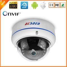 BESDER Camera IP 720P/960P/1080P Surveillance IP Camera Vandalproof Night Vision Dome Security Camera ONVIF 2.0 PTP Alert