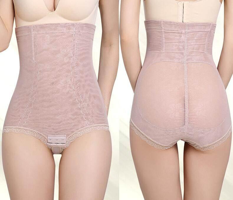 228f91efc Women Tummy Control Waist Girdle Panties Lace Body Shaper Corrective Underwear  Slimming Pants Plus Size Corset