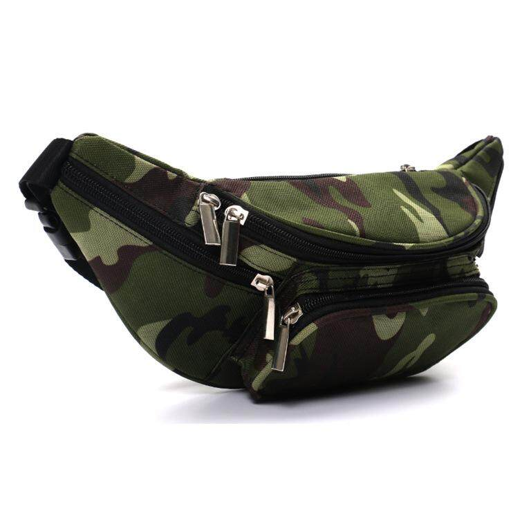 fd27abb0c6f2 Camouflage Ride Travel Camouflage Waist Bag Travel Leisure Fanny Pack Men  And Women Hiking Mountaineering Bag