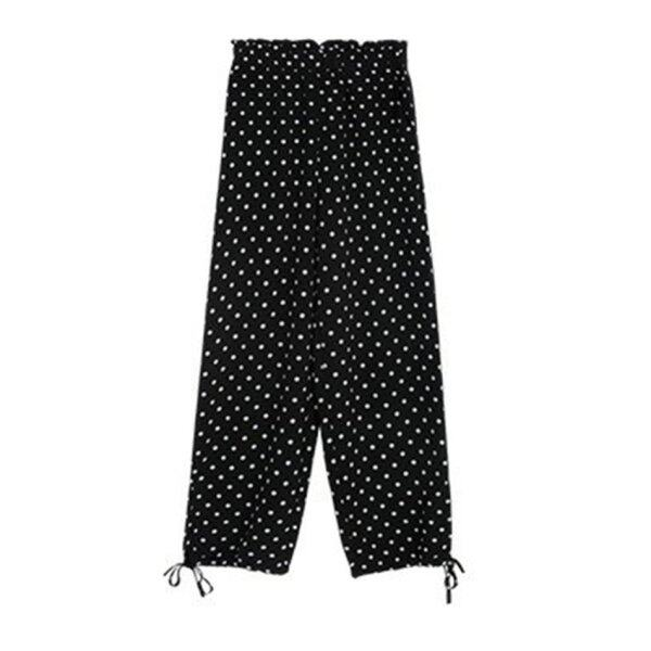 FAITH Chiffon Drawstring Beam Pants Radish Pants Women Summer Loose Pants