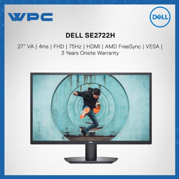 Dell SE2722H 27 4ms FHD 75Hz VA HDMI AMD FreeSync VESA Monitor Malaysia