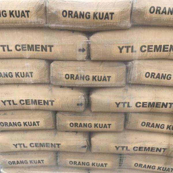 ytl cement 20kg packing