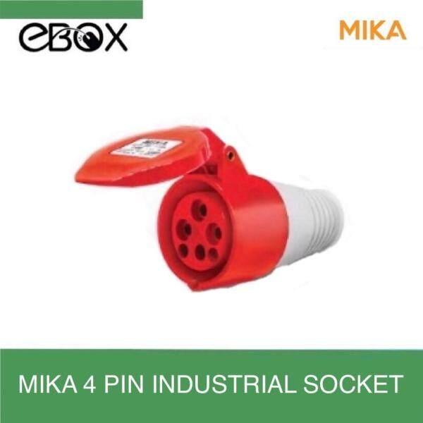 Mika 4 Pin 63A Industrial Socket