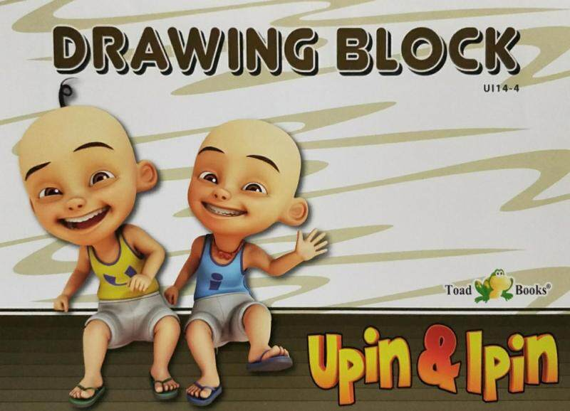 Upin&Ipin: Drawing Block Book 4 Malaysia