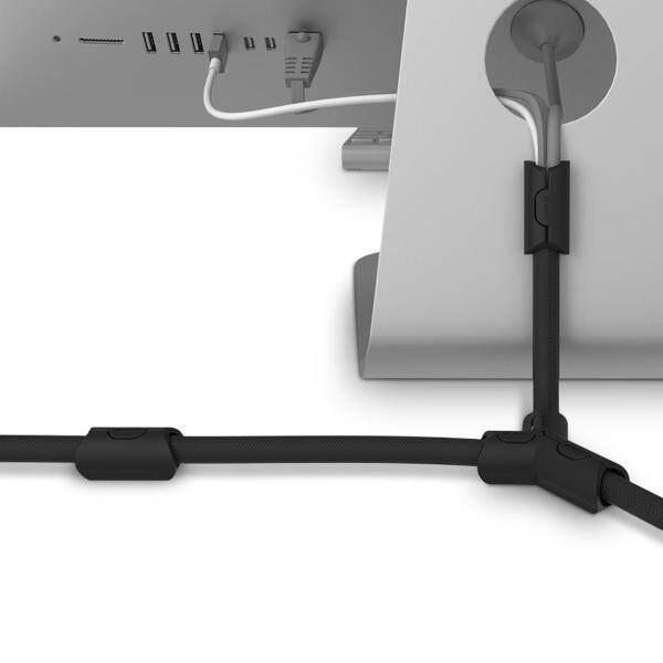 Bảng giá Chất lượng cao Wsken 3m bền cách nhiệt chống LEO chống cháy Vật liệu làm chậm Cáp Pet Ống cuộn bobbin thu thập organiger cho dây cáp sạc dữ liệu 13mm Phong Vũ