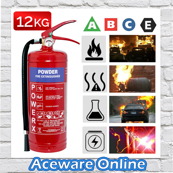 12KG ABC Powder Fire Extinguisher for Office Home Pemadam Api 61/