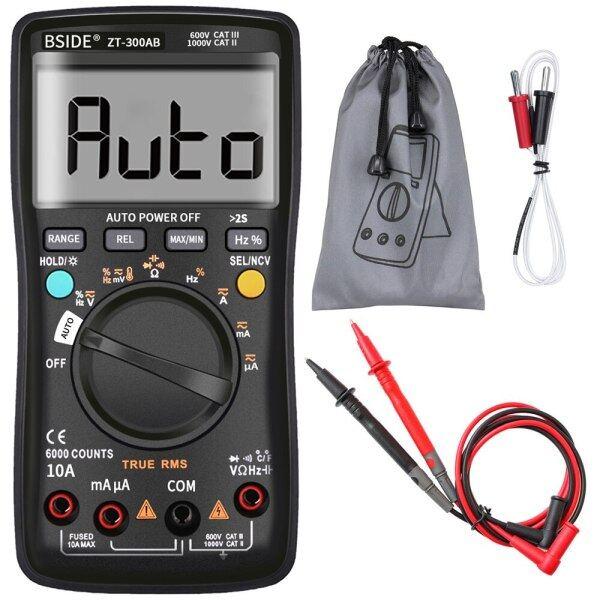 ZT300AB Multimeter Auto/Manual Range Digital Universal Meter 6000 Counts True RMS Smart AC/DC Voltage Current Meter