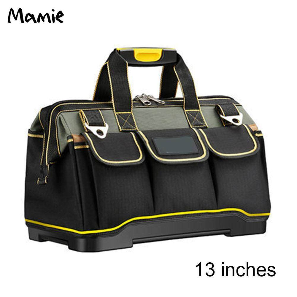Mamie Tool Bags 13/16/18/20 Inch 1680D Oxford Cloth Bag Top Wide Mouth Electrician Bags Multifunctional