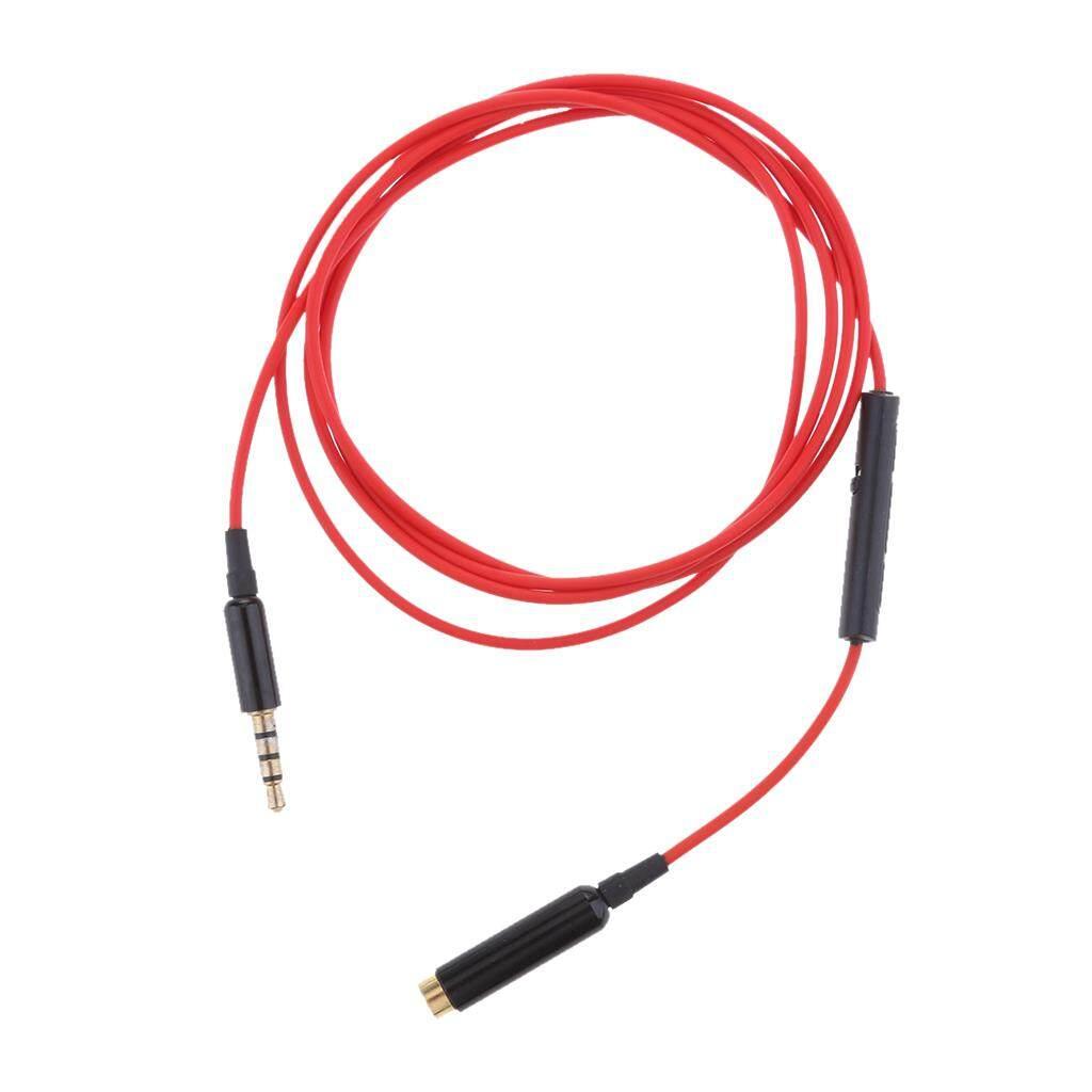 Gazechimp 3.5 Mm MALE untuk Perempuan Jack Audio Stereo Kabel Ekstensi dengan REMOTE & MIC