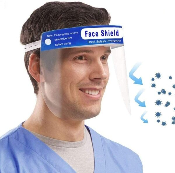 [Malaysia Ready Stock] Face Protective Shield / Face Shield Mask / Medical Face Shield for Full Face Protection For Kids Children Adult