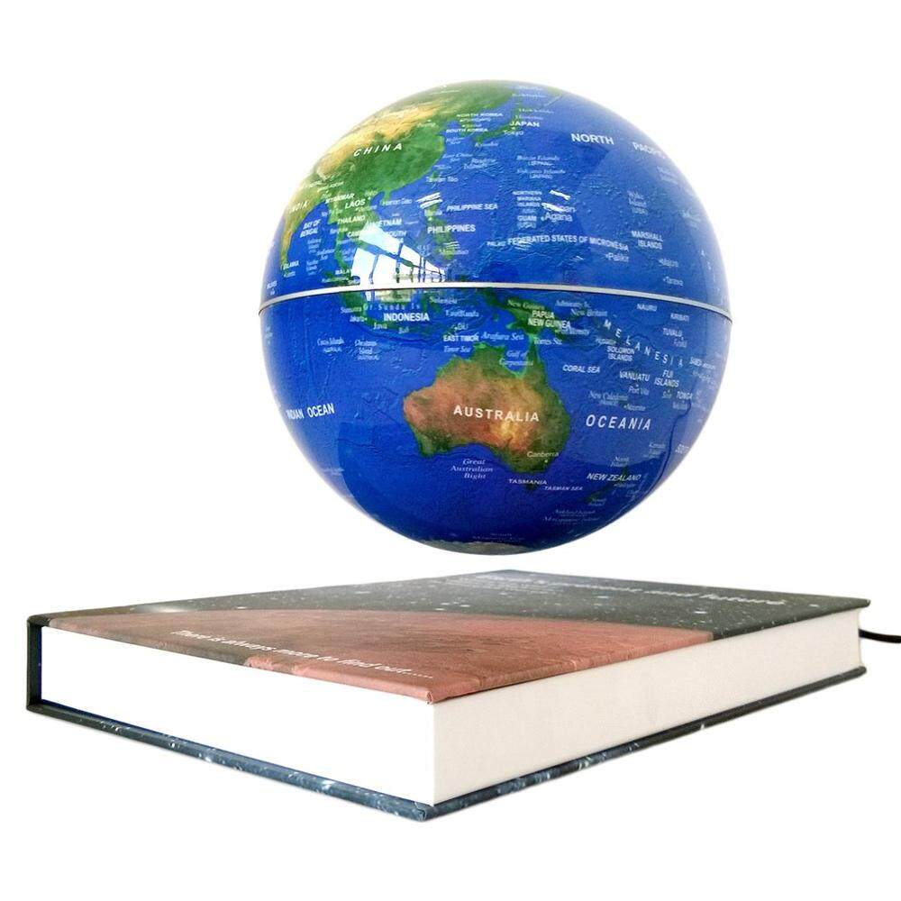6 Inch Levitation Magnetic Rotate Globe Floating Levitating Earth Map With