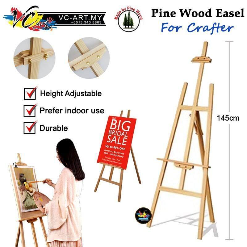 [VC-ART MY] Adjustable Art Wooden Easel 145cm - Per Unit