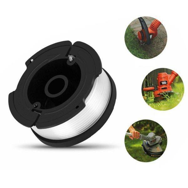 YESMILE 6-Pack Garden Spring Edger Spool Replacement Grass String Trimmer Kits For AF-100-3ZP Spool Line Cap Cover Lawn Mower