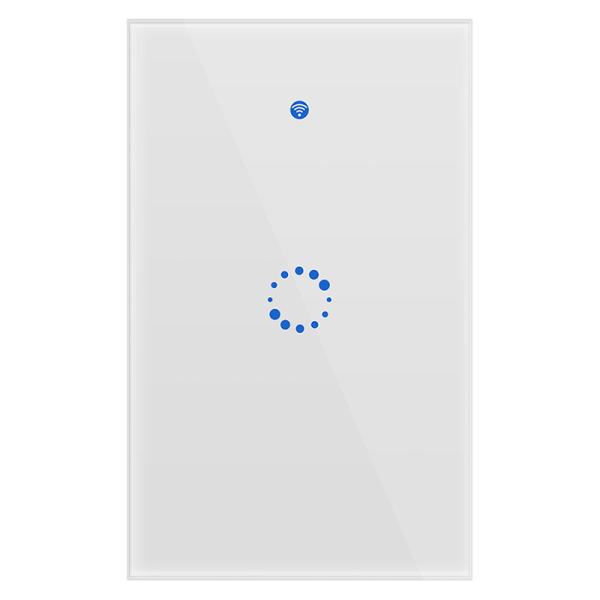 SONOFF Outlet T1 Chúng Tôi WiFi Đèn Thông Minh Chuyển Đổi 2.4GHz Tường Cảm Ứng Chuyển Đổi 1 Gang 3 Gang Ứng Dụng Thời Gian Điều Khiển 315MHz Từ Xa ON/OFF Trắng Bảng Kính Điều Khiển Bằng Giọng Nói Làm Việc Với Google Nhà Amazon Alexa, 100V-240V