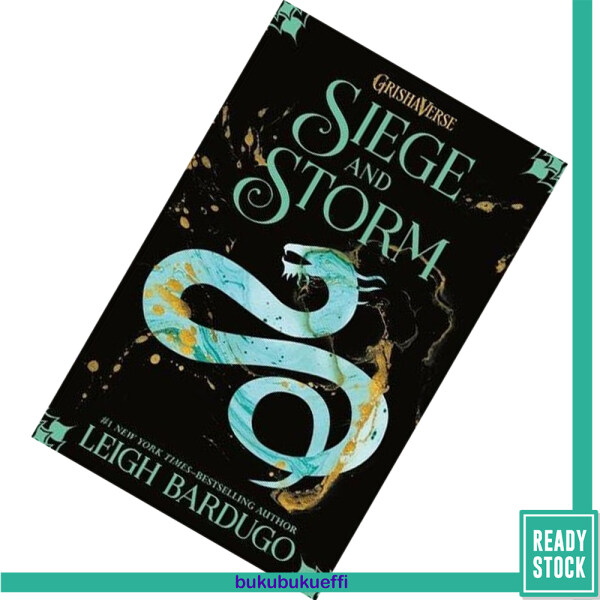 Siege and Storm (The Shadow and Bone Trilogy #2) by Leigh Bardugo Malaysia